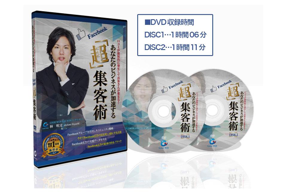 ■DVD収録時間 DISC1…1時間06分  DISC2…1時間11分