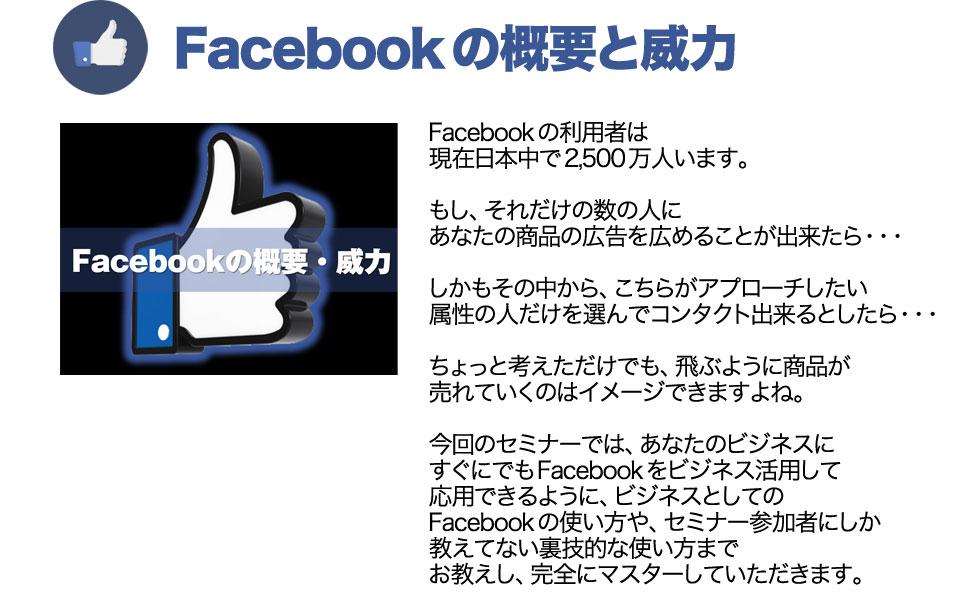 Facebookの概要と威力