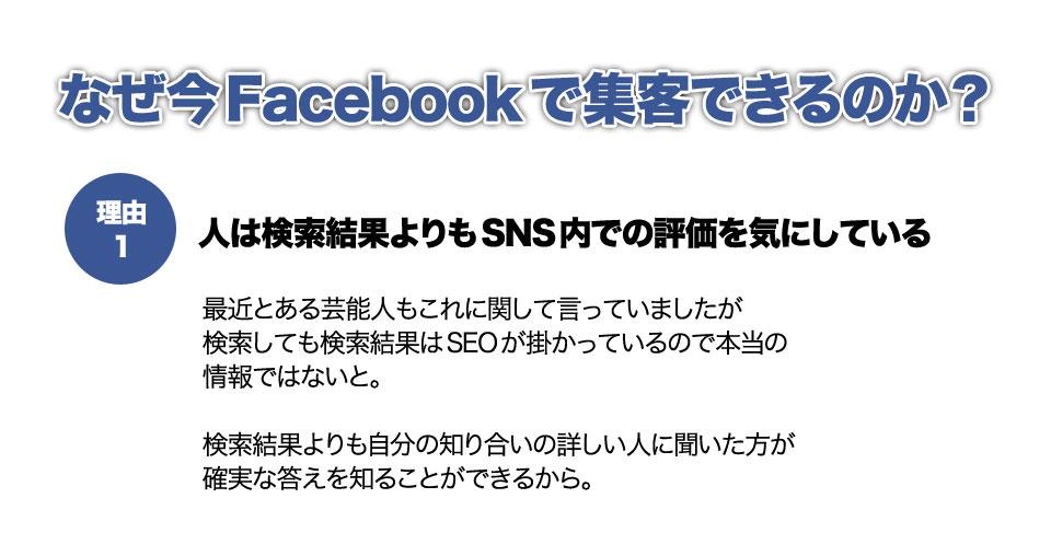 なぜ今Facebookで集客できるのか?
